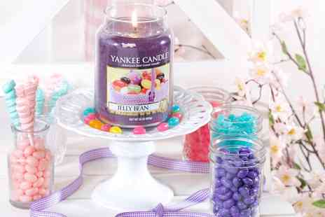 Groupon Goods Global GmbH - Yankee Candle Jelly Bean Large Jar - Save 43%