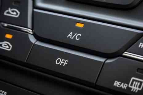 Tickenham GaRAGE - Car Air Conditioning Re Gas with Antibacterial Treatment or MOT Test - Save 59%