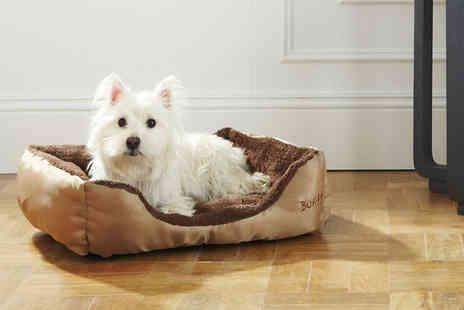 LaRoc - Small, medium or Large deluxe dog bed - Save 33%