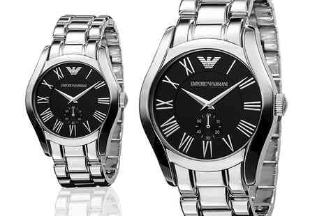 Gray Kingdom - Mens stainless steel Emporio Armani watch - Save 72%