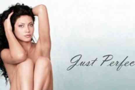Just Perfect - Full Bikini or Underarm Wax Plus Half Leg Wax - Save 52%