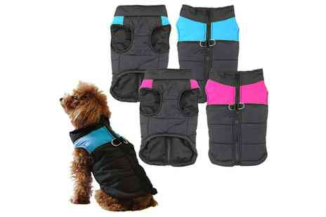 Groupon Goods Global GmbH - Bunty Warm Wrap Around Dog Jacket - Save 60%