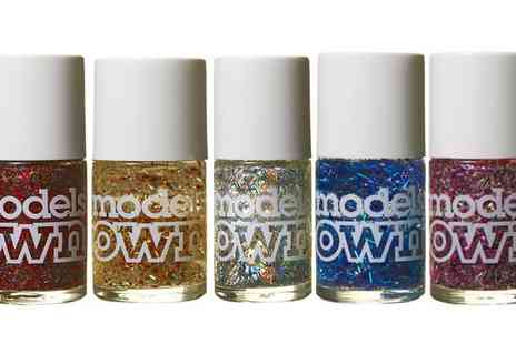 Groupon Goods Global GmbH - Five Pack Models Own Fireworks Collection Nail Polish - Save 80%