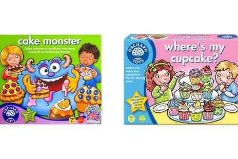 Groupon Goods Global GmbH - Orchard Toys Wheres My Cupcake or Cake Monster or Both Games - Save 13%