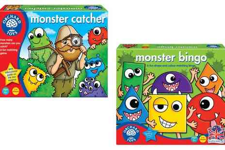Groupon Goods Global GmbH - Orchard Toys Monster Bingo or Monster Catcher Games - Save 11%