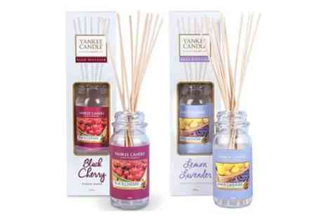 Groupon Goods Global GmbH - Twin Packs of Yankee Candle Reed Diffusers - Save 63%