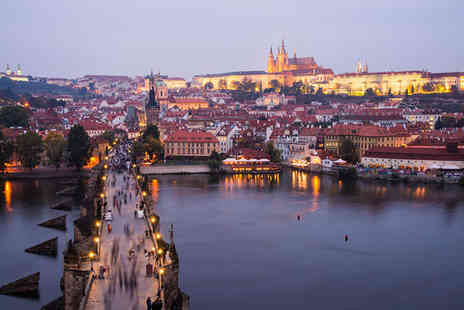 Hotel Golden Key - Four Star Boutique Hotel Stay For Two near the Charles Bridge - Save 65%