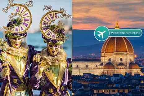Weekender Breaks - Two night Venice and two night Florence escape with breakfast, flights, trains and optional tours - Save 23%