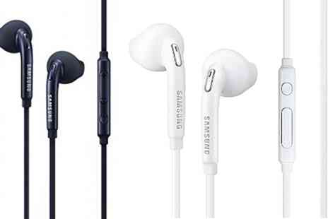 Groupon Goods Global GmbH - Samsung Hands Free Earbuds - Save 80%