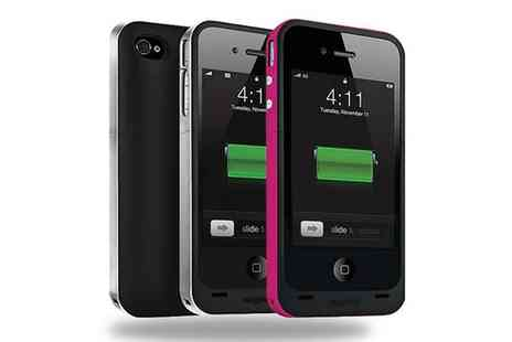 Groupon Goods Global GmbH - Mophie 1500mAh or 2000mAh Juice Pack Case for iPhone 4, 4S - Save 45%