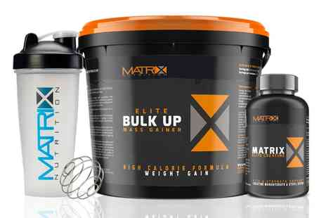 Groupon Goods Global GmbH - Matrix 2.25kg or 4kg of Protein Powder, 240 Creatine Tablets and Shaker - Save 77%
