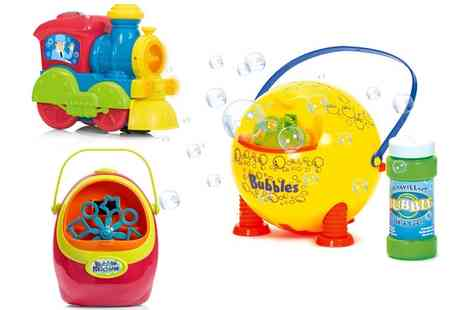 Groupon Goods Global GmbH - Bubble Machine Toys - Save 0%