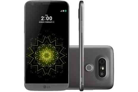 Groupon Goods Global GmbH - LG G5 SE Titan Smartphone with Removable Battery - Save 30%
