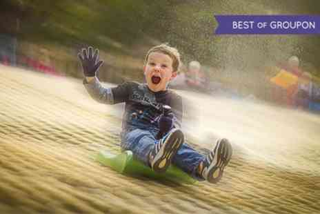 Mendip Activity Centre - One Hour of Tobogganing with Optional Chips and a Drink for Up to Four Kids - Save 51%