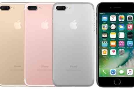 Affordable Mobiles - iPhone 7 Plus 32GB with a 24 Month Three Contract Include Unlimited Texts and Minutes and 2GB of Data - Save 85%