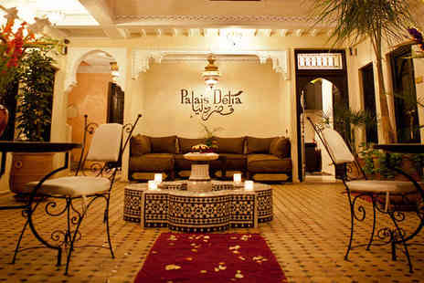 Riad Palais Delia - Exotic Riad Escape with Rooftop Plunge Pool For Two - Save 48%