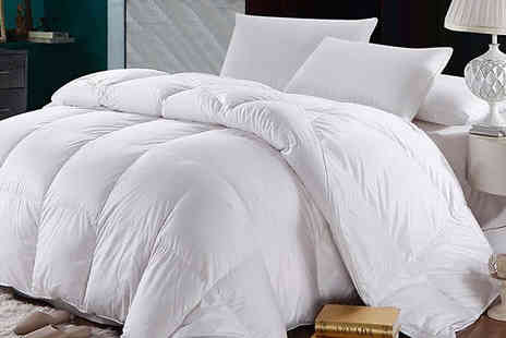 Fusion - All Seasons Duck Feather Duvet Available in Four Sizes - Save 81%