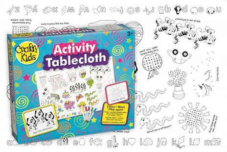 Deals Direct - Kids washable activity tablecloth - Save 41%
