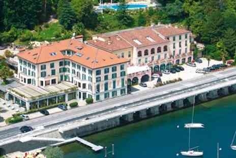 Exclusive Luxury Breaks - Three Night Deluxe Italian Lake Break with Flights - Save 0%