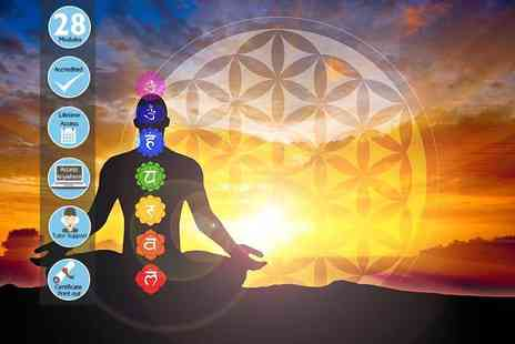 Centre of Excellence - An online Level 1 and 2 Reiki diploma course - Save 85%