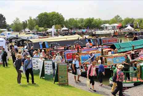 Crick Boat Show - One adult ticket to the Crick Boat Show on Monday 29th May 2017 - Save 50%
