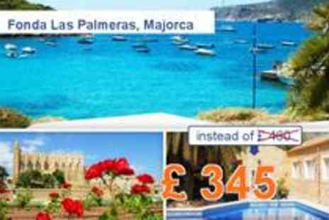 Fonda Las Palmeras - 8 days in Mallorca for 2 - Save 25%