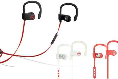 Groupon Goods Global GmbH - Apachie Sports Bluetooth Earphones - Save 57%