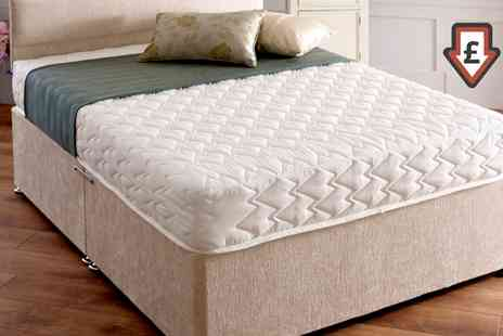 Groupon Goods Global GmbH - Superior Memory Comfort Mattress in Choice of Size With Free Delivery - Save 82%