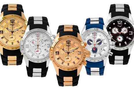 AQS Brand Inc - Aquaswiss Trax 6H Watches With Free Delivery - Save 90%