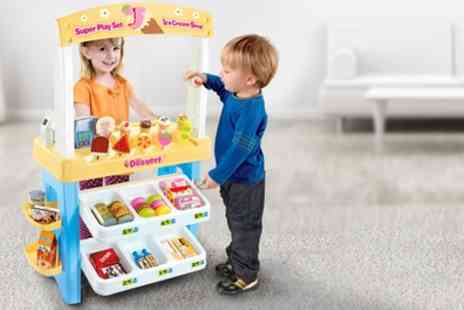 Groupon Goods Global GmbH - 36 or 47 Piece Dessert Store Super Play Set - Save 57%