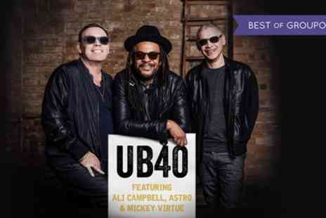 UB40 Feat Ali - Tickets to UB40 Featuring Ali, Astro and Mickey on 30 June, Scarborough Open Air Theatre - Save 57%