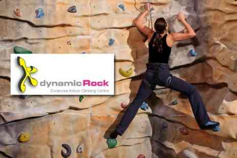 Dynamic Rock Adventures - Indoor Climbing Experience for £5 - Save 74%