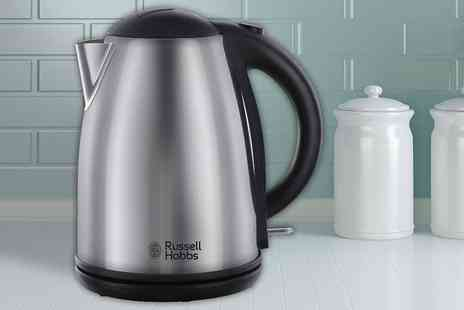 Electric Mania - Russell Hobbs polished stainless steel kettle - Save 0%