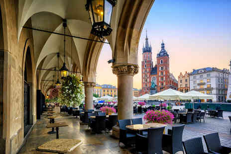 Cheap Cost Holidays - Four Star two night Krakow spa break with flights or include the bar crawl option - Save 0%