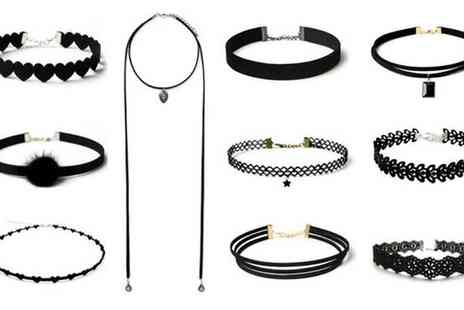 Groupon Goods Global GmbH - 10 Piece Choker Sets with New Styles - Save 83%