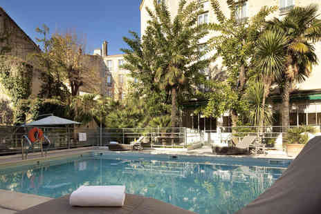 Oceania Le Metropole Montpellier - Four Star Charming Hotel Stay For Two in City Centre - Save 55%