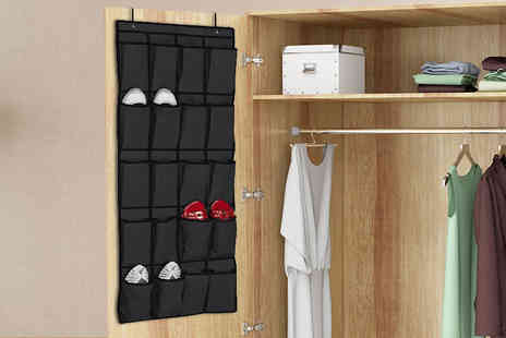 ViVo Technologies - 20 pocket hanging shoe organiser - Save 82%