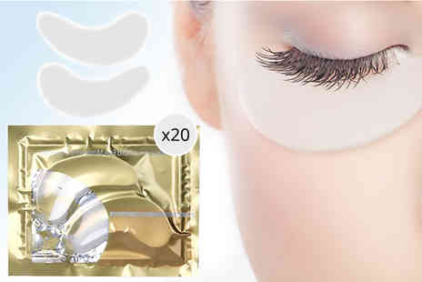 Forever Cosmetics - 20 hyaluronic collagen eye masks - Save 94%