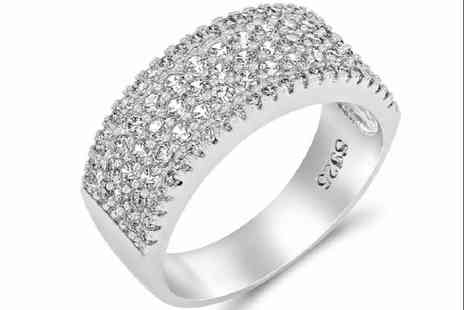 GameChanger Associates - Clear studded ring - Save 86%