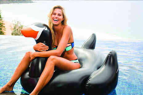 Eurotrade - Extra large inflatable black swan - Save 52%