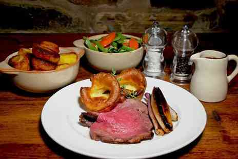 Whirlow Hall Farm Trust - Two course Sunday roast lunch for two people with a glass of wine each - Save 42%