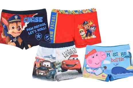 Groupon Goods Global GmbH - Boys Character Swim Trunks and Shorts - Save 50%