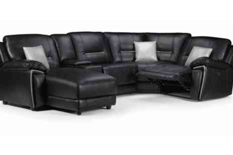 Groupon Goods Global GmbH - One, Two or Three Seats Henry Leatheraire Sofa Collection - Save 50%