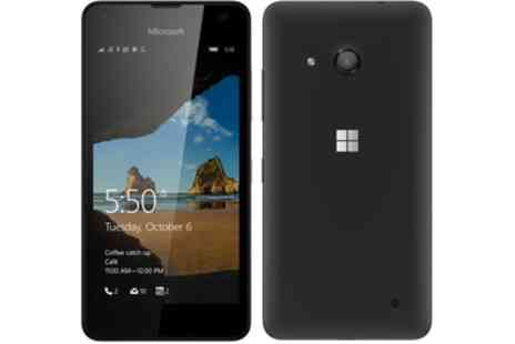 Groupon Goods Global GmbH - Microsoft Lumia 550 Black - Save 29%