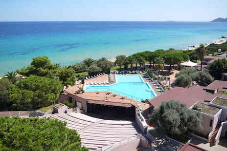 Free Beach Club - Four Star Family Friendly Stay in Costa Rei - Save 75%