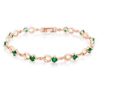 GameChanger Associates - Rose gold plated bracelet - Save 85%