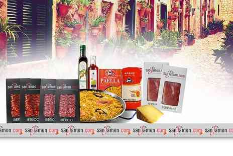 San Jamon - Paella kit with pan and charcuterie - Save 0%