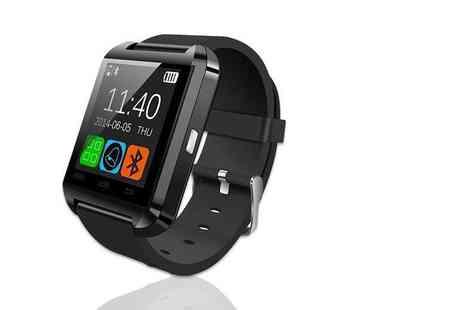TLD Marketing - 15 in 1 U8 Bluetooth Fitness Watch - Save 90%