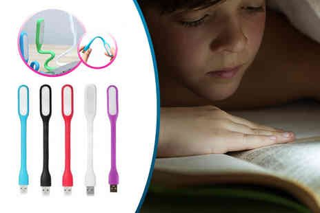 Cheeky Box - Flexible USB light choose from five colours - Save 70%