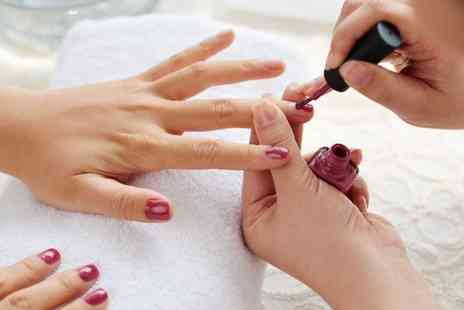 Pinkies and Toes - Gel manicure from Pinkies and Toes - Save 31%